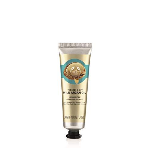The Body Shop Wild Argan Oil Hand Cream, 1 Fluid Ounce