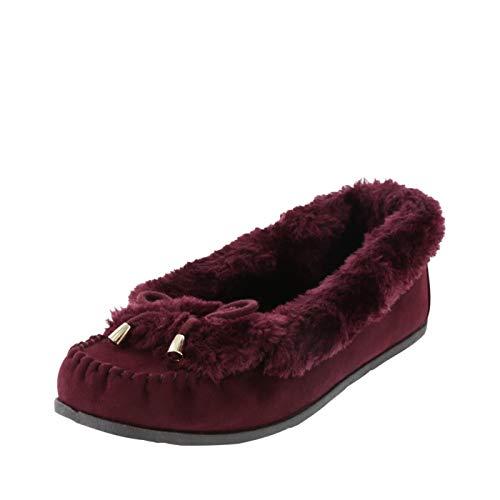 (Airwalk Sangria Women's Frost Slip-On Moc 6 Regular)