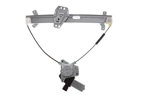 HANSUN 8836-0500 Honda Accord Coupe  Front Passenger Side Replacement Power Window Regulator and Motor Assembly