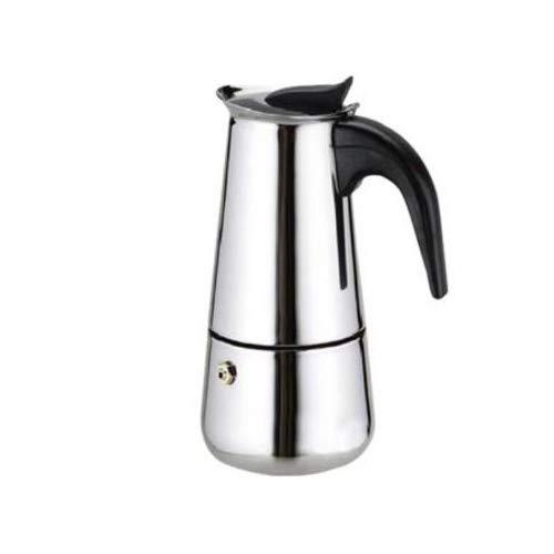 Cafetera Espresso en Acero Inoxidable – Plata (9 TAZAS)