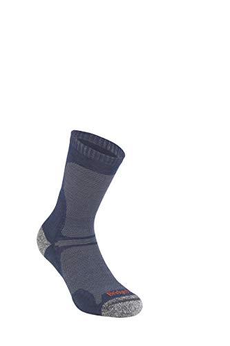 Bridgedale Men's Ultra Light Crew - Merino Endurance Socks, Large, Navy