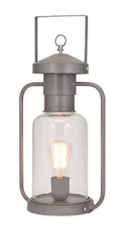 IMAX 89988 Newport Glass Lantern Table Lamp