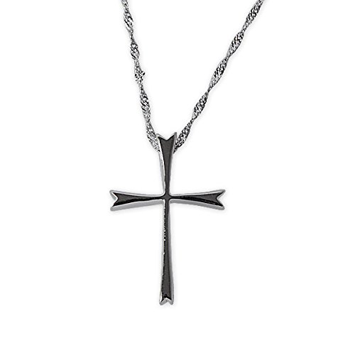 Sterling Christian Religious Pendant Necklace product image