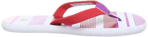 adidas Performance Chilwa 2 W - Sandalias de material sintético mujer rojo - Rot (Running White Ftw / Vivid Red S13 / Vivid Pink S13)