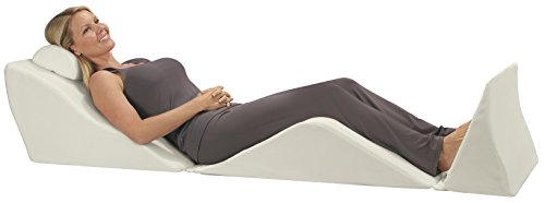 (Contour Products BackMax Full Body Foam Bed Wedge Pillow System, Plus 2.0)