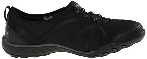 Skechers Sport Frauen atmen Easy Fortune Fashion Sneaker Schwarz