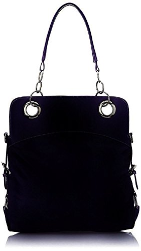 Deal handbag gifts size purple women Deal big Especial Especial Stylish 7qw7rOP