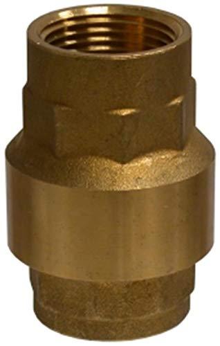 Midland 944-405 Brass In-Line Check 1 FNPT x 1 FNPT 400 psi 1 FNPT x 1 FNPT Midland Metal