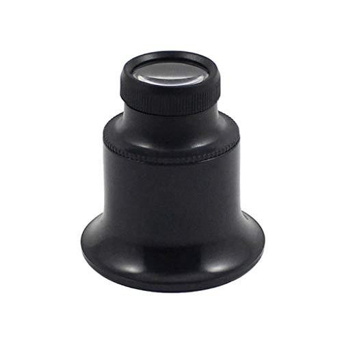CPSHFDJ Portable LED Magnifier Eye mask Magnifying Glass 20 Times Maintenance Enlargement Mirror Eye use Special Repair Tool