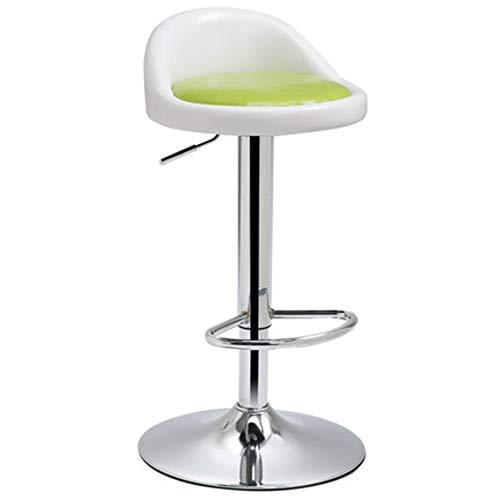 - KE & LE Height Adjustable Rolling Swivel Stool, Chair Hydraulic Ergonomics Backrest Wheels for Massage Spa Manicure Dentist Bar Chairs Bar stools-J