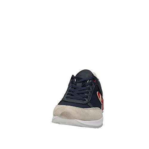 Colmar Scarpe Pelle Lacci Uomo Navy Traori Sneakers Blu qtFBfqUwr