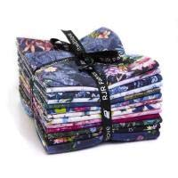Fleur Couture Digital Fat Quarter Bundle of 13 by RJR Fabrics 9653-635