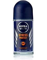 NIVEA MEN Stress Protect Roll On Anti-Perspirant Deodorant, 50ml