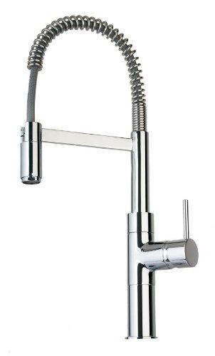 La Toscana 78CR556 Elba Pre-Rinse Kitchen Faucet, Chrome