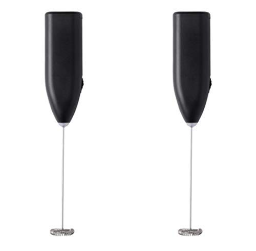 Ikea Milk Frother 303.011.67, Black by IKEA, Pack of 2