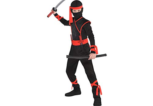 Boys Shadow Ninja Costume - Medium (8-10) ()
