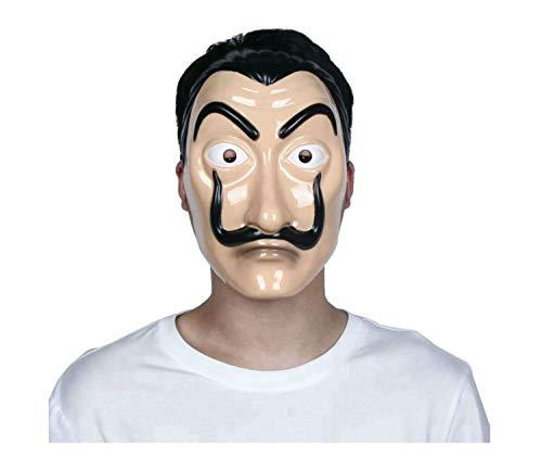 La Casa De Papel Mascara and Mask From Money Heist Movie by Salvador Dali
