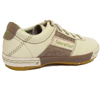 Womens Off White Caterpillar Haynie Cat Ladies Leather Trainers Shoes   Amazon.co.uk  Shoes   Bags cd52e8ef0