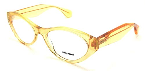 Miu Miu MU03MV Eyeglasses-PDA/1O1 Glitter Gold Gradient-52mm