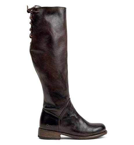 Bed|Stu Women's Manchester Knee-High Leather Boot (8.5 B(M) US, Tiesta Di Moro Dip Dye)