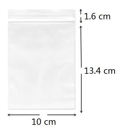 Cambiar 10 x 15 cm, pequeñas Bolsas de plástico Transparente ...
