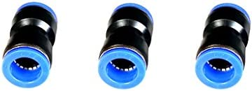 空気圧コネクタ エア配管 チューブ継手 リリースボタン アダプター 組み立て 3個 - 16mm