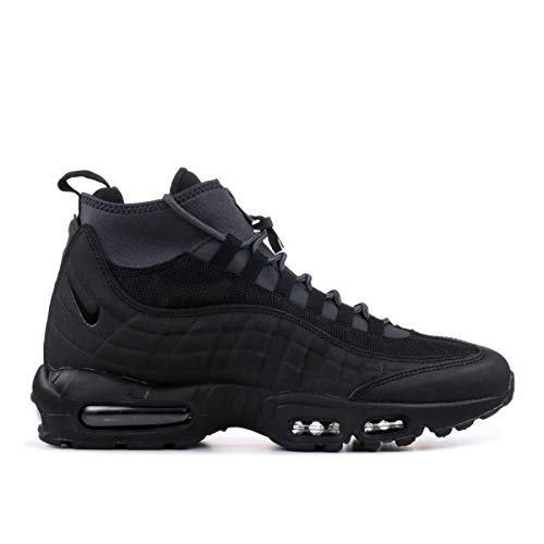 Max Shox Air (Nike Mens Air Max 95 Sneakerboot Black/Black/Anthracite/White 806809-001 Size 9)