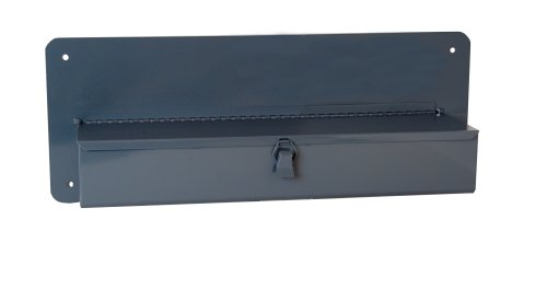 Durham 802-95 Gray Steel Single Row Door Tray For Trucks and Vans, 21