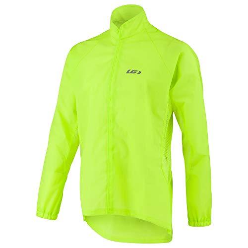 (Louis Garneau Clean Imper Bike Jacket, Bright Yellow,)