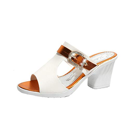 Orange YUCH Slippers Lazy Chaussures Femme Twn8v7qn