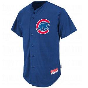 "Chicago Cubs ""MLB COOL BASE – FULL BUTTON"" Licensed Major League Baseball Replica Jersey – DiZiSports Store"