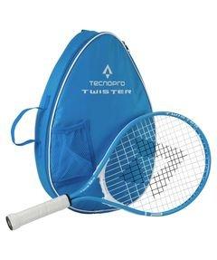Tecnopro Kinder Twister 21 Tennis-Set, Blau/Weiss, One Size