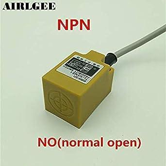Sellify TL-N5ME1 NO 5mm interruptor del sensor de proximidad inductivos 3 Wire 6-36VDC 300mA: Amazon.es: Industria, empresas y ciencia
