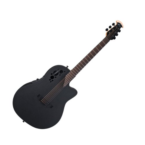 Ovation Elite T 1778TX Acoustic-electric Guitar, Black