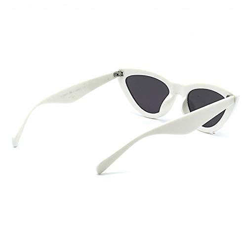Vacances Mode pour Les Achats Soleil De Conduite UV Les Filles De White Eye Femmes pour Soleil Cadeaux Accessoires Lunettes Utilisation Anti Idéal Lunettes De Cat xU6AqAEO