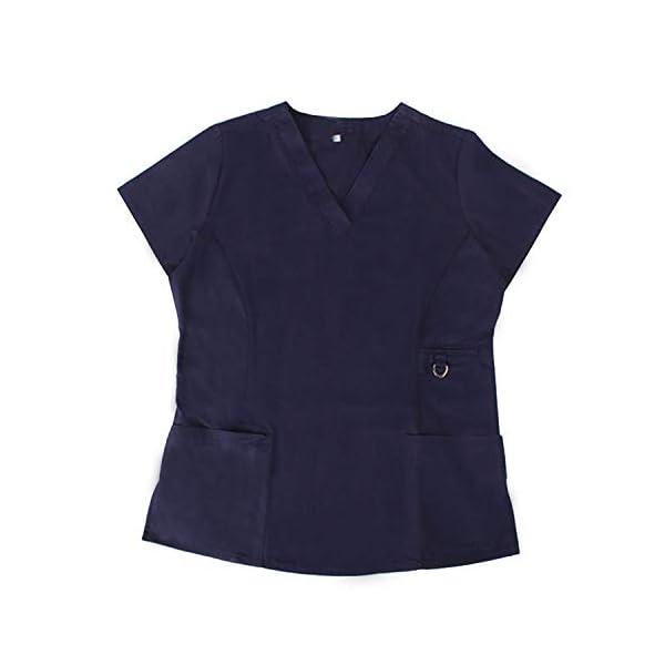 MISEMIYA Medical Uniform Scrub Top Camisa de Sanitario Unisex Adulto 3