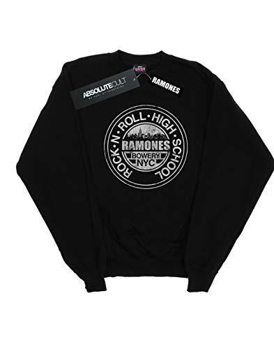 Nyc Negro Bowery Cult Entrenamiento De Ramones Mujer Absolute Camisa wqO8IAwx