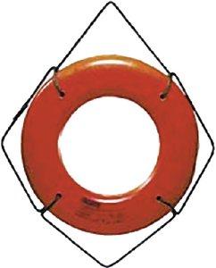 Cal-June 20in Orange Hard Shell Ring Bu HS20O