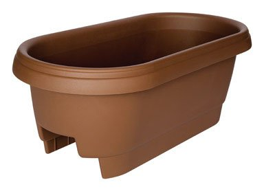 - Bloem Deck Balcony Rail Planter 24