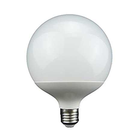 LightED Bombilla Globo LED E27, 11 W, Blanco 120 x 155 mm: Amazon.es: Iluminación