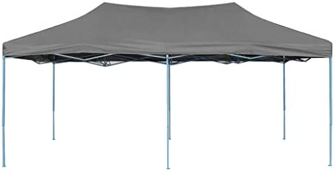 vidaXL Carpa Plegable Pop-up 3x6 m Antracita Exterior Terraza ...
