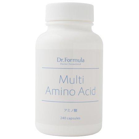 【医師監修サプリメント】 BCAA マルチアミノ酸 (30日分) 240粒 スポーツや体力作りのサポートに Multi Amino Acid B016O2G1LO