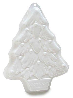 CK Products Christmas Tree Pantastic Plastic Cake Pan