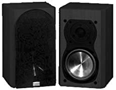 Teatro 45 Black Pr 2 Way Bookshelf Speaker By Phase Technology