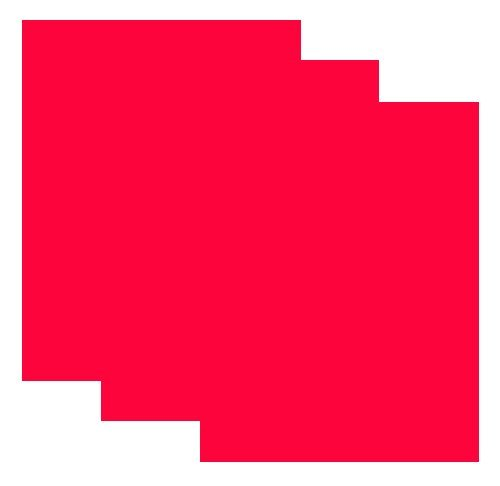 SISER EasyWeed Heat Transfer Vinyl HTV for T-Shirts 12 x 15 Inches 3 Precut Sheets (Fluorescent Coral)