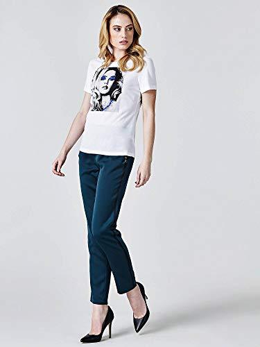 Twht Blanco Mujer Para Camiseta Guess waHx0qTA0