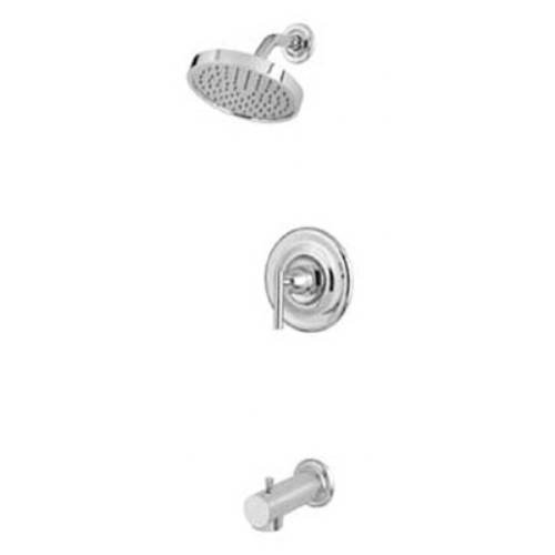 Pfister G89-8NK1 G89-8NK1 Contempra Single Handle Tub and Shower Combo Trim with Rain Can Showerhead, Brushed Nickel 70%OFF