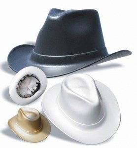 Cowboy Hard Hat w/ 6 Point Ratchet Suspension