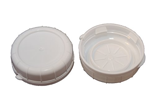 Replacement Caps for Stan-pac & Libbey Milk Bottles- All Sizes (2, 48 MM) (48 Mm Plastic Cap)