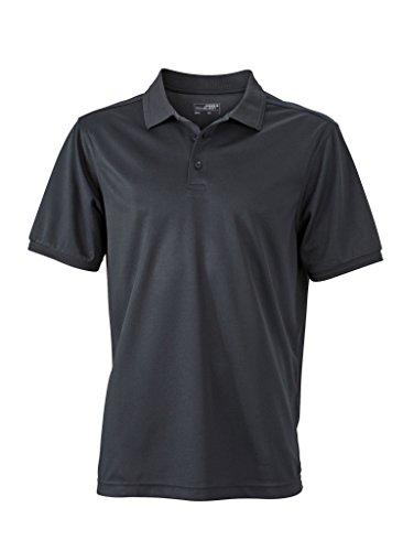 Herren Active Polo | James & Nicholson | JN 576, Farbe:black;Größe:XXXL
